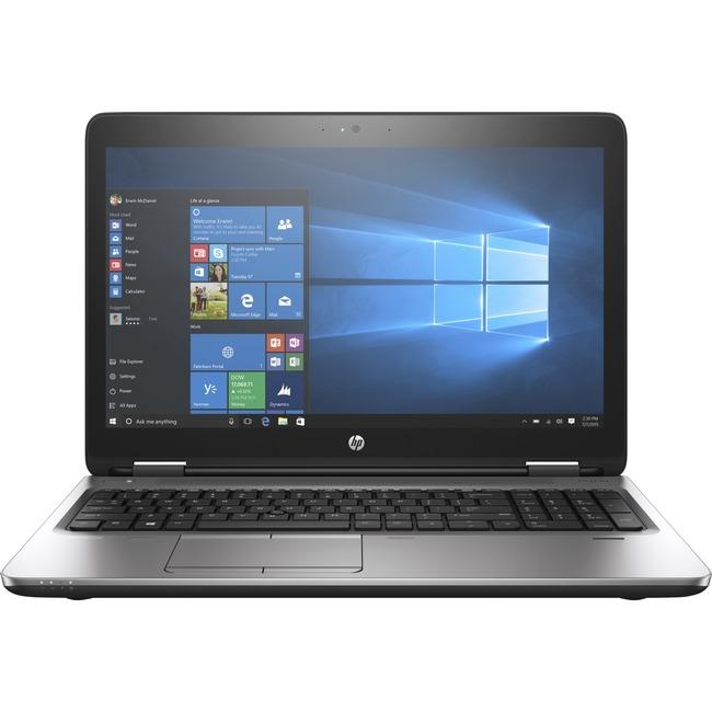 "HP ProBook 650 G3 15.6"" LCD Notebook | Intel Core i5 (7th Gen) i5-7200U Dual-core (2 Core) 2.50 GHz | 4 GB DDR4 SDRAM | 128 GB SSD | Windows 10 Pro 64-bit (English) | 1366 x 768"