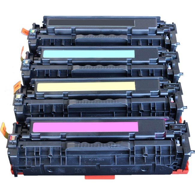 LMI Solutions Remanufactured Toner Cartridge - Alternative for HP (CE411A) - Cyan