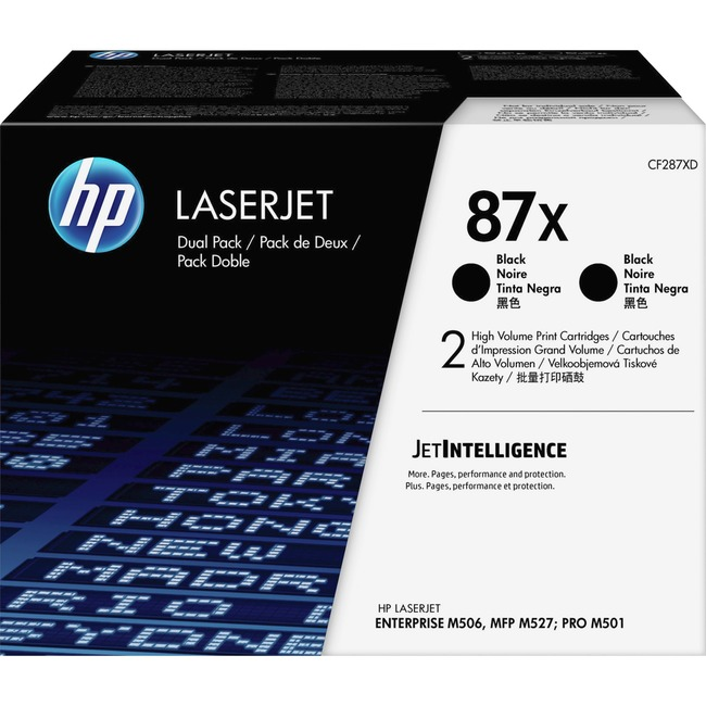 HP 87X Original Toner Cartridge - Black