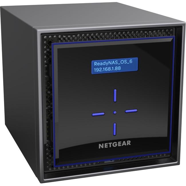 Netgear ReadyNAS RN424 4 x Total Bays SAN/NAS Server - Desktop