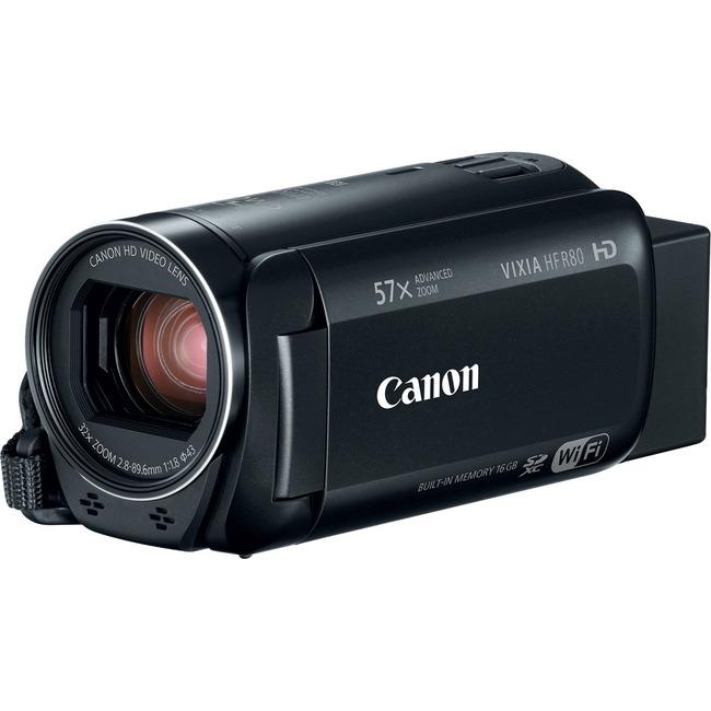 "Canon VIXIA HF R800 Digital Camcorder - 3"" - Touchscreen LCD - CMOS - Full HD - Black"