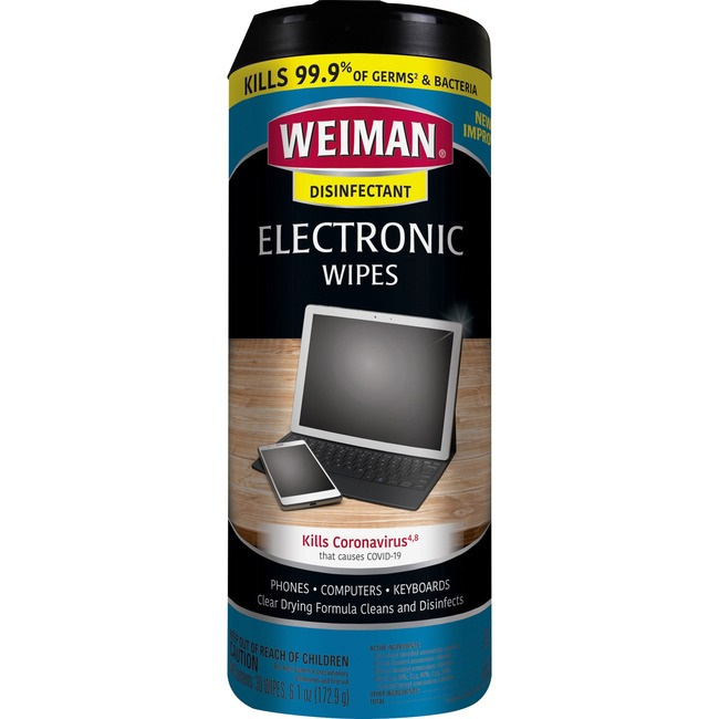 Weiman Products e-Tronic Wipes
