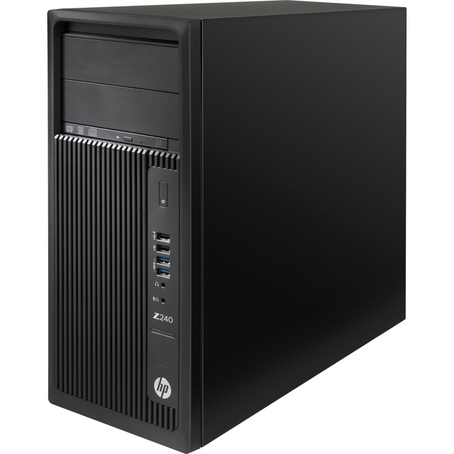 HP Z240 Workstation - 1 x Intel Core i3 (6th Gen) i3-6100 Dual-core (2 Core) 3.70 GHz - 4 GB DDR4 SDRAM - 1 TB HDD - Int