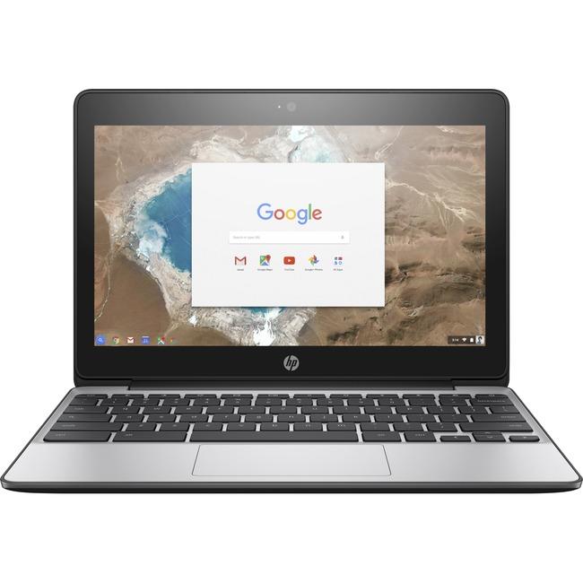 "HP Chromebook 11 G5 EE 11.6"" Touchscreen LCD Chromebook - Intel Celeron N3060 Dual-core (2 Core) 1.60 GHz - 4 GB DDR3L S"