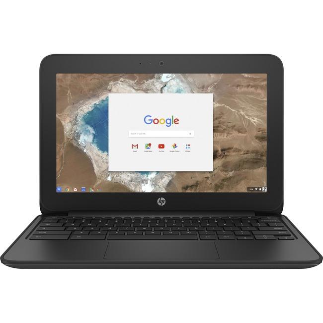 "HP Chromebook 11 G5 EE 11.6"" LCD Chromebook - Intel Celeron N3060 Dual-core (2 Core) 1.60 GHz - 4 GB LPDDR3 - 16 GB Flas"