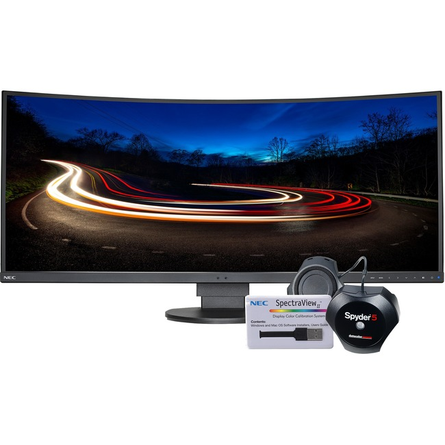 "NEC Display MultiSync EX341R-BK-SV 34"" LED LCD Monitor - 21:9 - 5 ms"