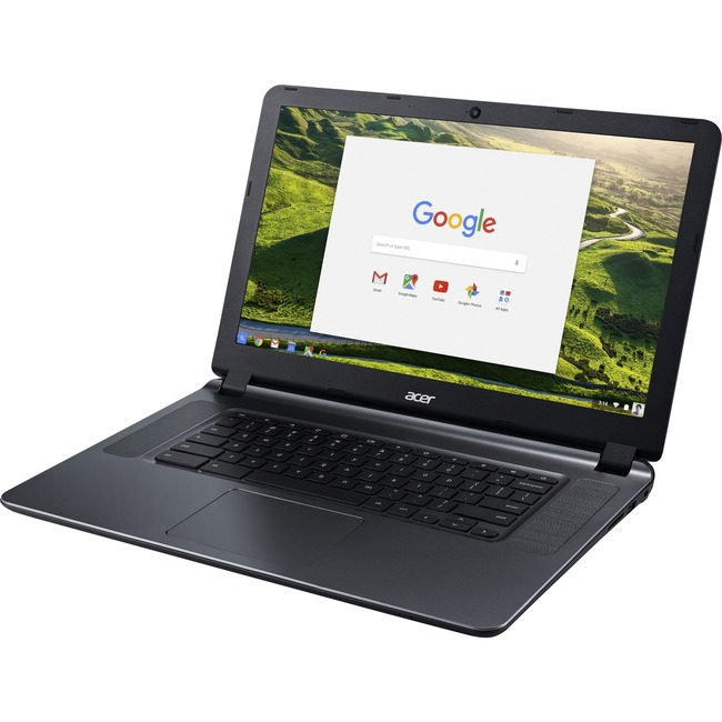 "Acer CB3-532-C42P 15.6"" Active Matrix TFT Color LCD Chromebook - Intel Celeron N3060 Dual-core (2 Core) 1.60 GHz - 4 GB"
