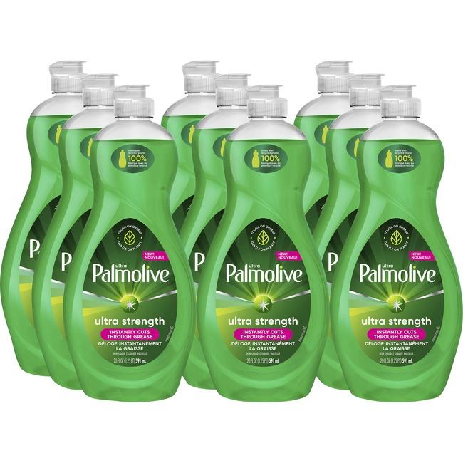 Palmolive Ultra Strength Liquid Dish Soap 9/Carton