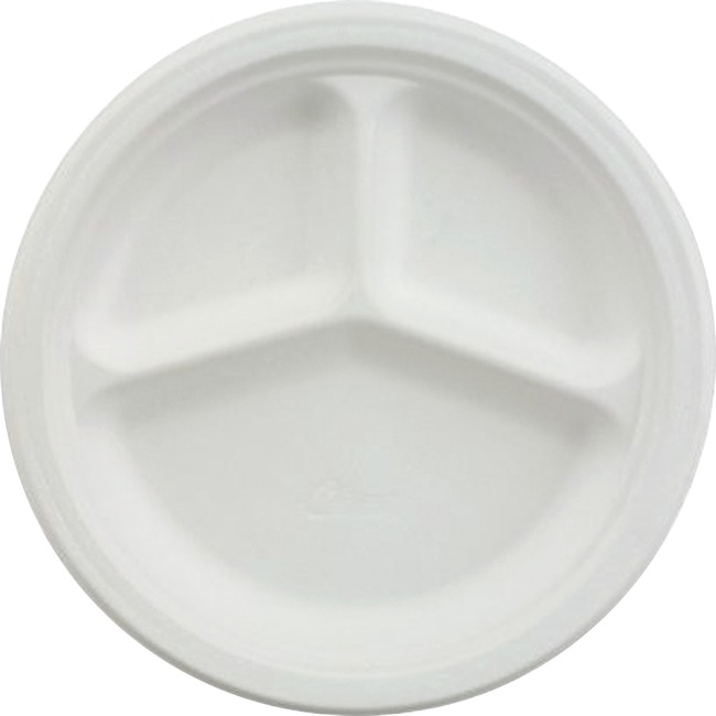 chinet 3 compartment paper plate 21228 37700212280 ebay