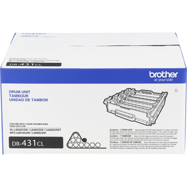 Brother Genuine DR431 Drum Unit