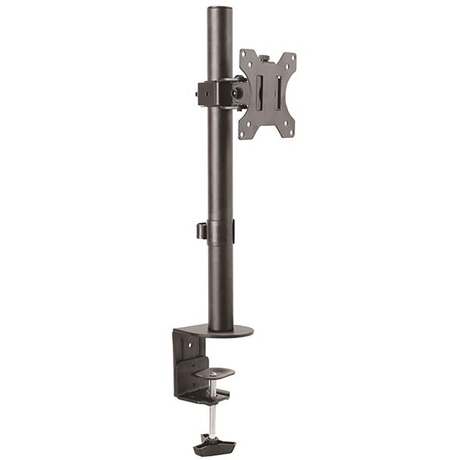 Monitor Desk Mount - For VESA Mount Monitors up to 32in (17.6 lb/8 kg) - Heavy Duty Steel Monitor Mount - Height Adjustable Computer Monitor Mount