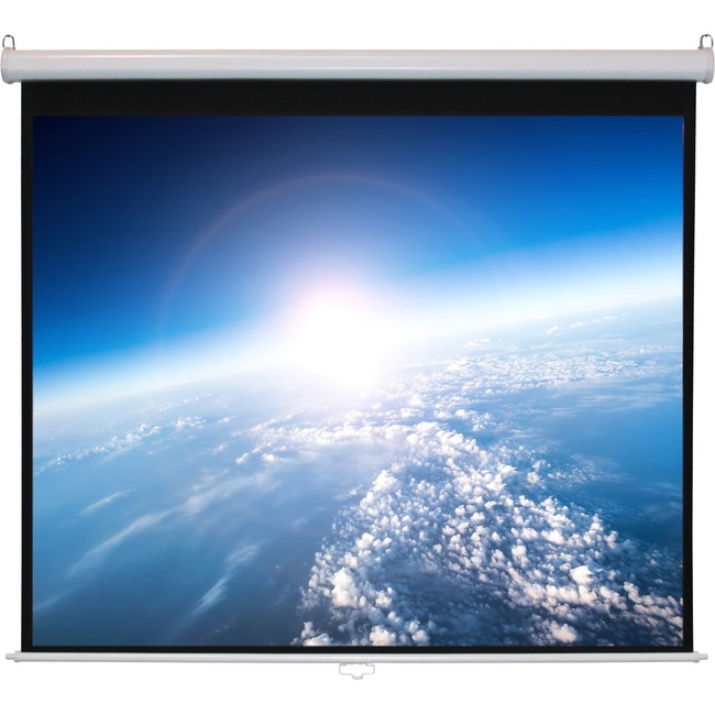 "Alltec Screens ATS-M99S Manual Projection Screen - 99"" - 1:1 - Wall/Ceiling Mount"