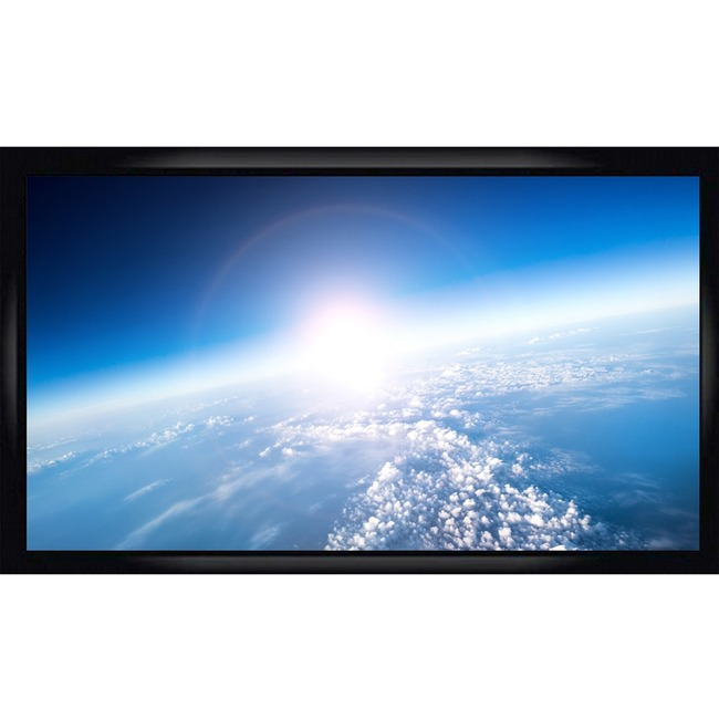 """Alltec Screens ATS-FF100 Fixed Frame Projection Screen - 100"""" - 16:9 - Wall Mount"""