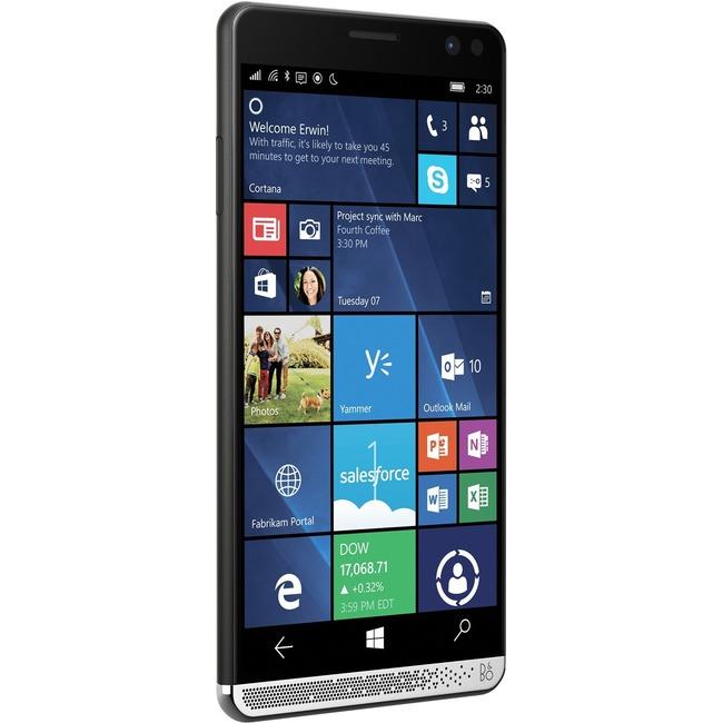"HP Elite x3 64 GB Smartphone - 6"" Super AMOLED WQHD Touchscreen - 4 GB RAM - 4G - 16 Megapixel Rear/Windows 10 - SIM-fre"