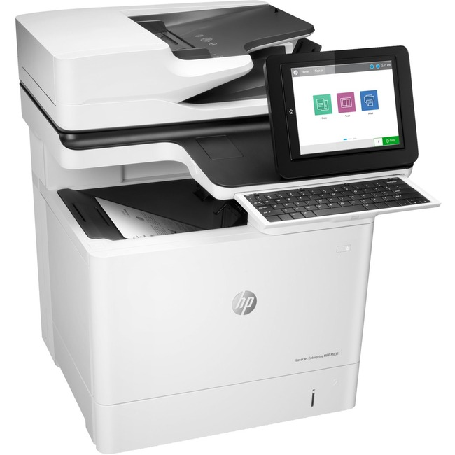 HP LaserJet M631h Laser Multifunction Printer - Monochrome - Plain Paper Print - Desktop
