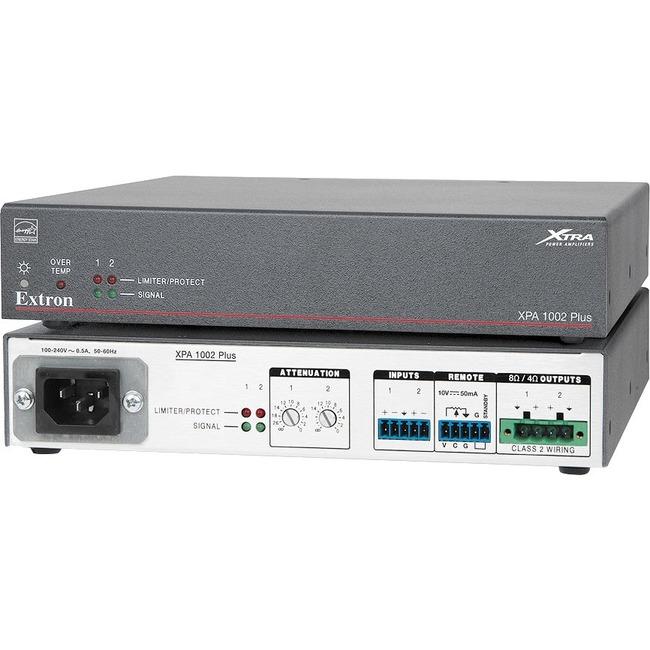 Extron XTRA XPA 1002 Plus Amplifier   Product overview