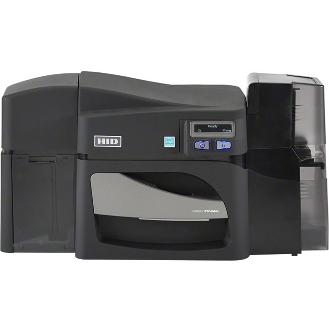 Fargo DTC4500E Double Sided Dye Sublimation/Thermal Transfer Printer - Color - Card Print