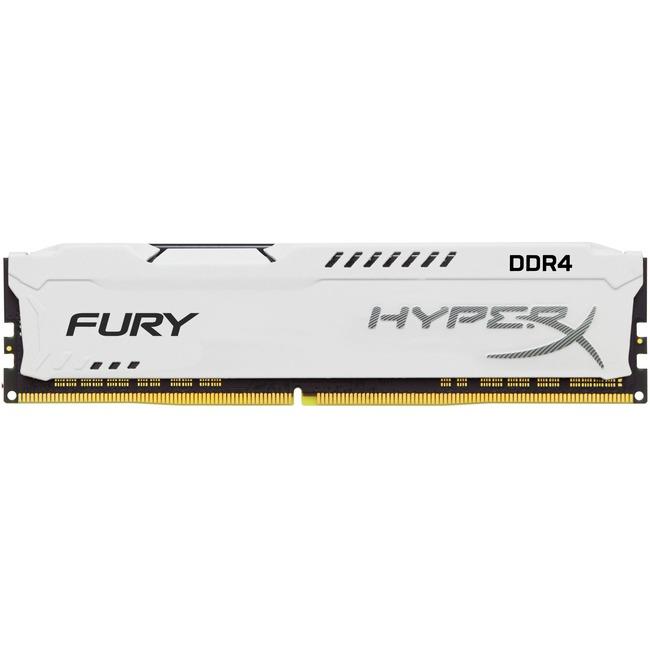 HyperX Fury White 8GB 1x8GB DDR4 2666MHz Memory