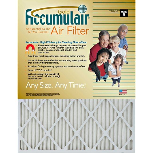 Accumulair Gold Air Filter