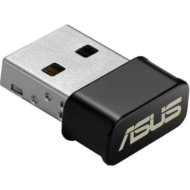 Asus USB-AC53 IEEE 802.11ac - Wi-Fi Adapter - USB 2.0 - 1.17 Gbit/s - 2.40 GHz ISM - 5 GHz UNII - External