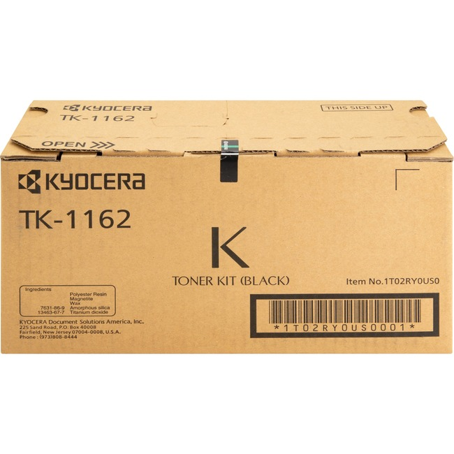 Kyocera TK-1162 Original Toner Cartridge - Black