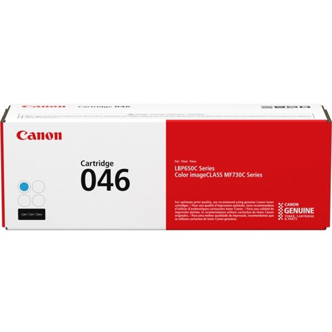 Canon 046 Toner Cartridge - Cyan