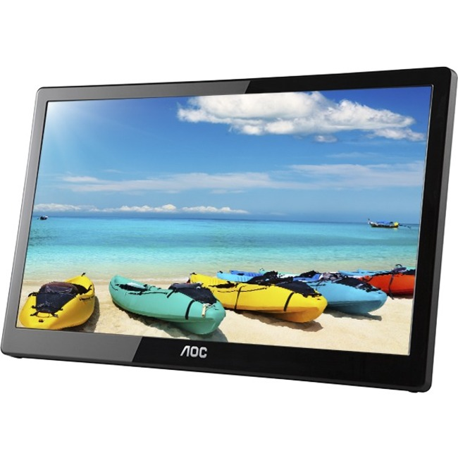 "AOC I1659FWUX 16"" LED LCD Monitor - 16:9 - 25 ms"