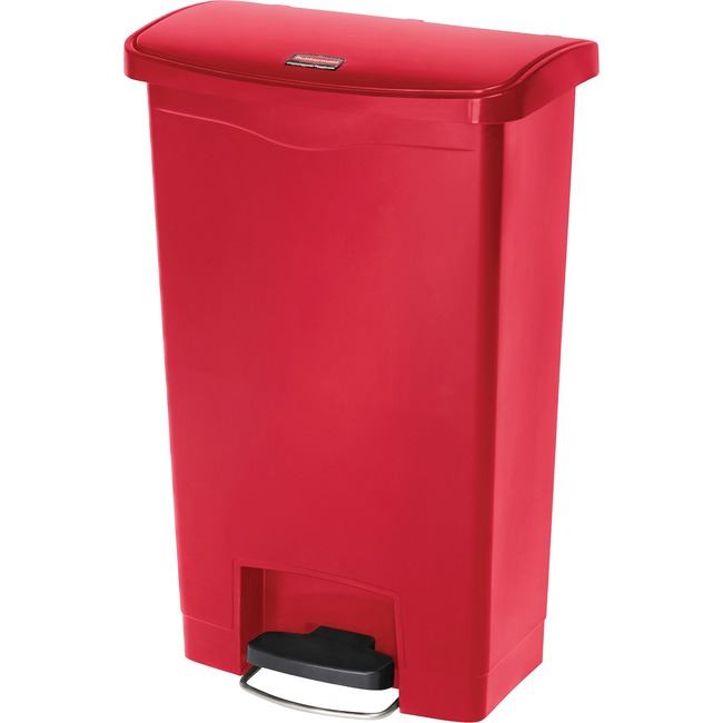 Rubbermaid Commercial Slim Jim 13-gal Step-On Container