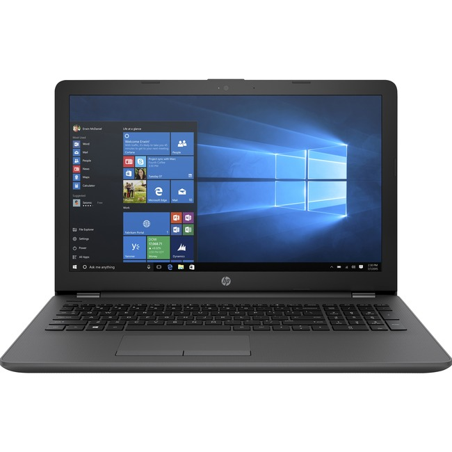 "HP 255 G6 15.6"" LCD Notebook - AMD A-Series (7th Gen) A6-9220 Dual-core (2 Core) 2.50 GHz - 8 GB DDR4 SDRAM - 256 GB SSD"