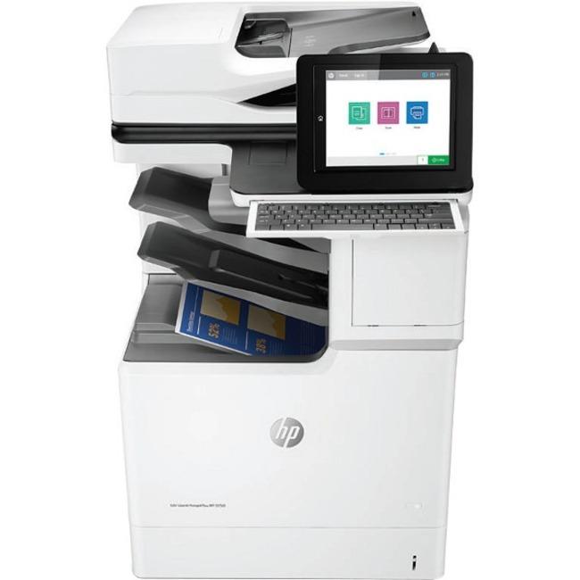 HP LaserJet E67560z Laser Multifunction Printer - Monochrome - Plain Paper Print