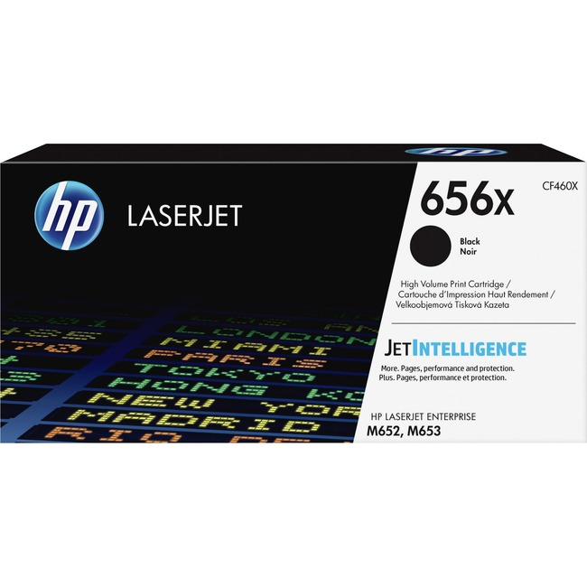 HP 656X Original Toner Cartridge - Black