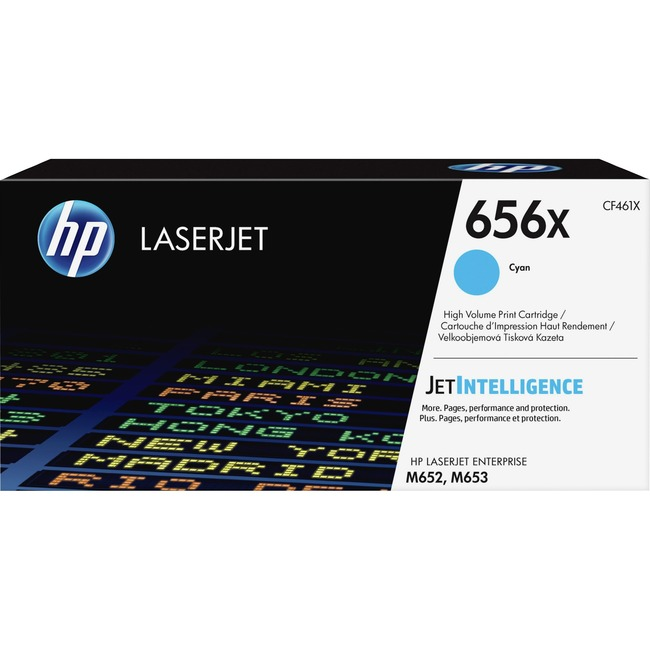 HP 656X Original Toner Cartridge - Cyan
