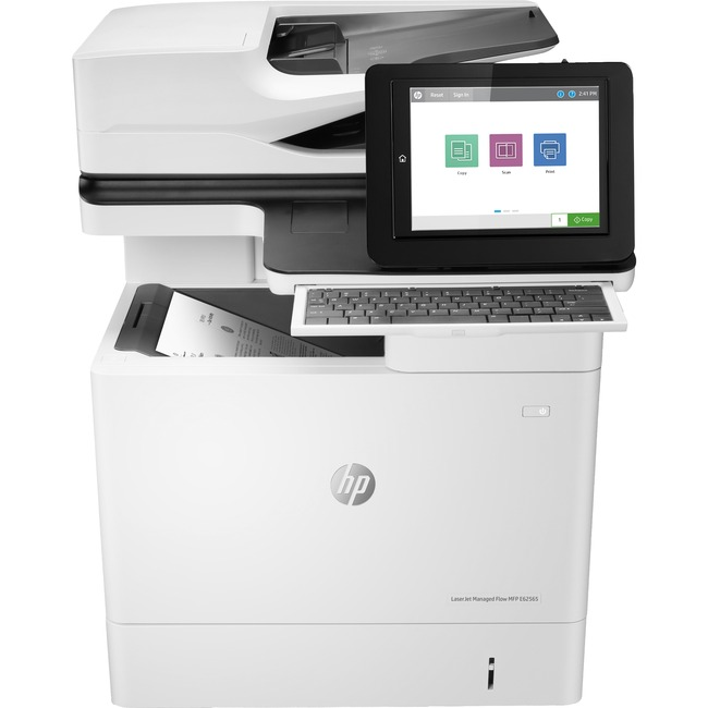 HP LaserJet E62565h Laser Multifunction Printer - Monochrome - Plain Paper Print - Desktop