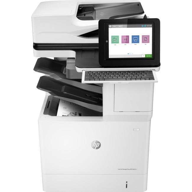 HP LaserJet E62575z Laser Multifunction Printer - Monochrome - Plain Paper Print - Desktop