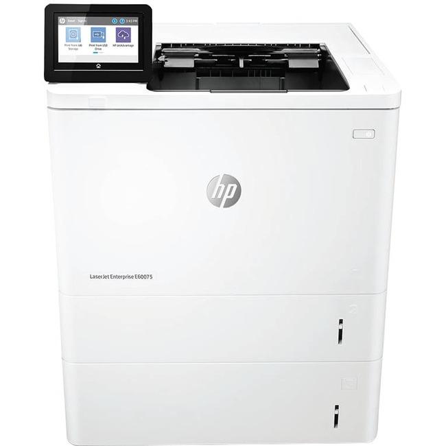HP LaserJet Managed E60075x Laser Printer - Monochrome - 1200 x 1200 dpi Print - Plain Paper Print - Desktop