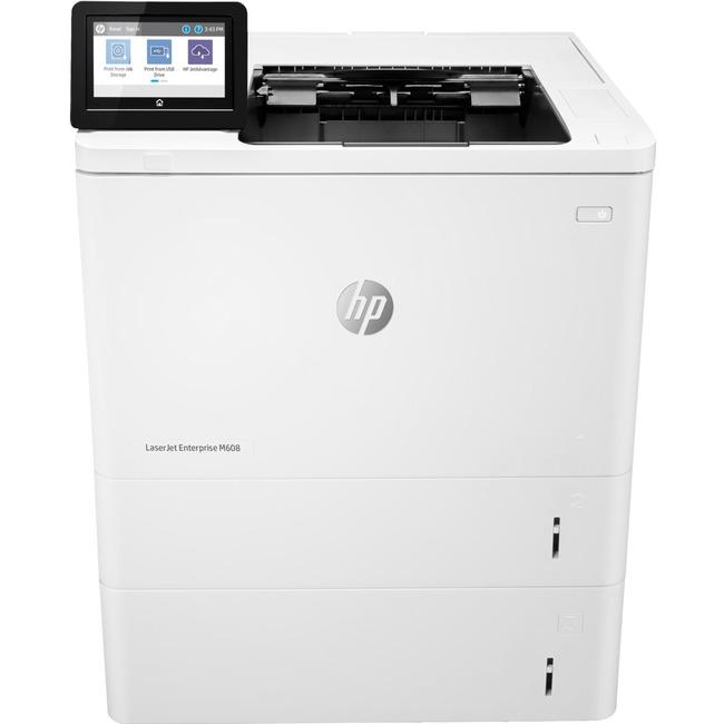 HP LaserJet M608x Laser Printer - Monochrome - 1200 x 1200 dpi Print - Plain Paper Print - Desktop - 61 ppm Mono Print - B6 JIS, Oficio, A5R, RA4, B5 JIS, DL Env