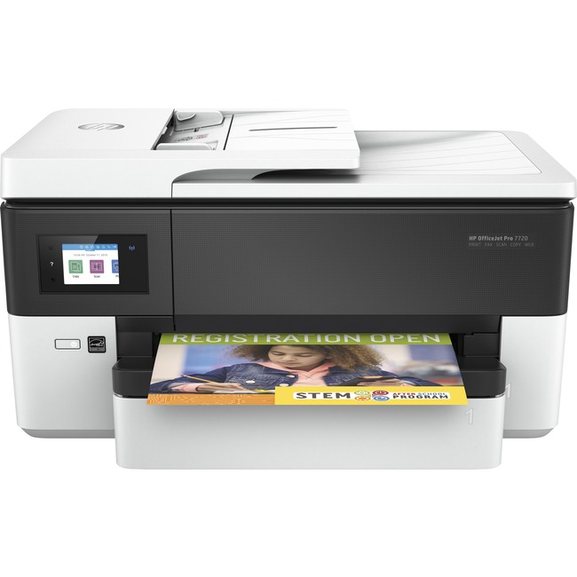 HP Officejet Pro 7720 Inkjet Multifunction Printer - Color - Plain Paper Print - Desktop