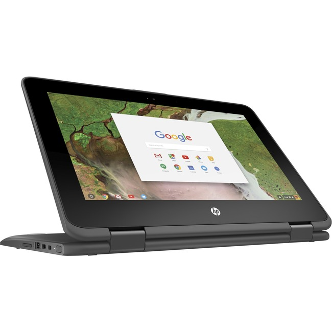 "HP Chromebook x360 11 G1 EE 11.6"" Touchscreen LCD 2 in 1 Chromebook - Intel Celeron N3350 Dual-core (2 Core) 1.10 GHz -"