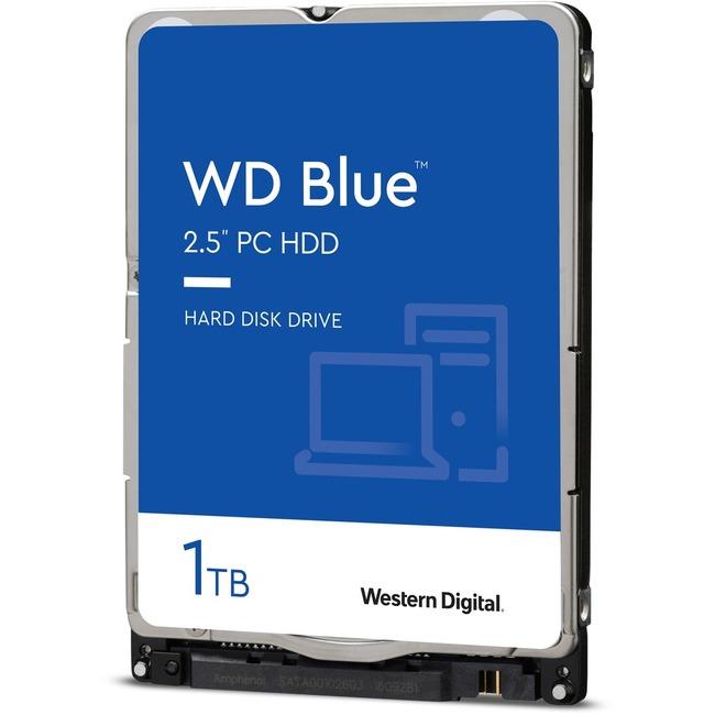 """WD Blue WD10SPZX 1 TB Hard Drive - SATA (SATA/600) - 2.5"""" Drive - Internal"""