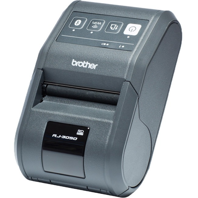 Brother RuggedJet RJ-3050AI Direct Thermal Printer - Monochrome - Desktop - Label/Receipt Print