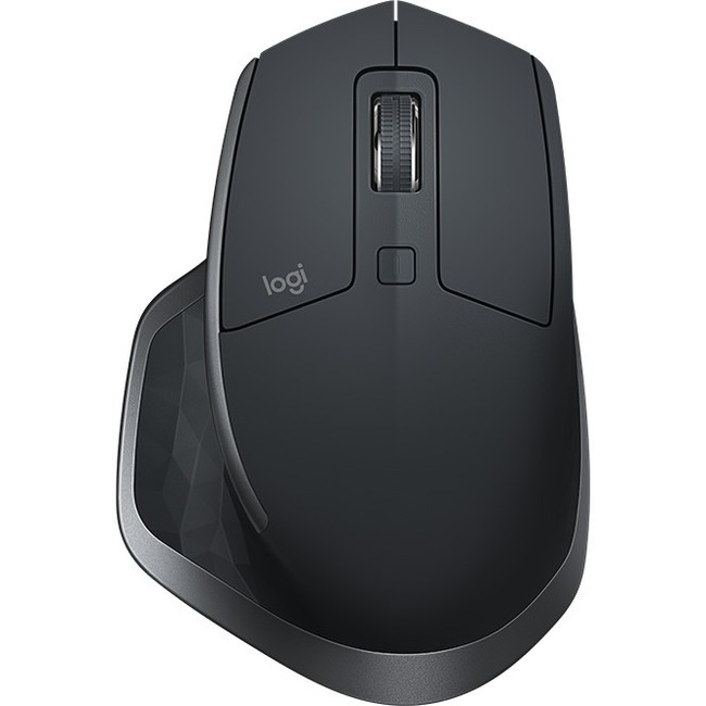 Logitech MX Master 2S Mouse - Darkfield - Wireless - 7 Buttons - Graphite