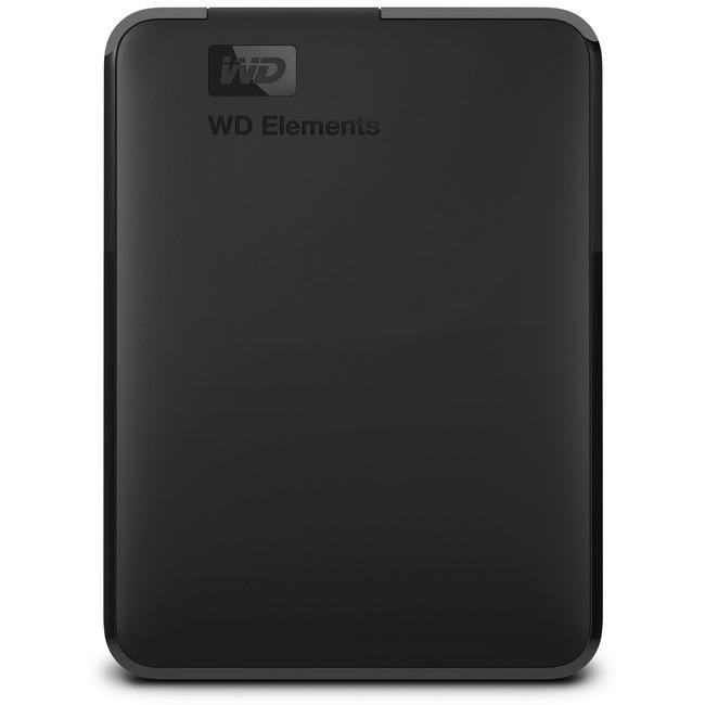 WD Elements SE WDBU6Y0040BBK-WESN 4 TB External Hard Drive - Portable - USB 3.0 - Black