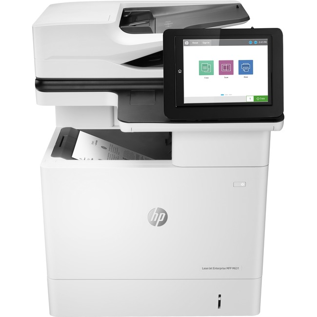 HP LaserJet M631dn Laser Multifunction Printer - Monochrome - Plain Paper Print - Desktop