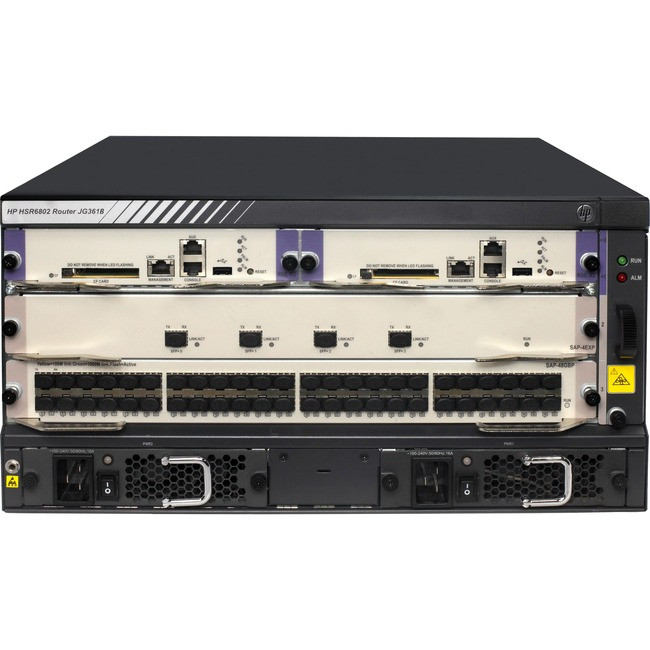HPE FlexNetwork HSR6802 Router Chassis