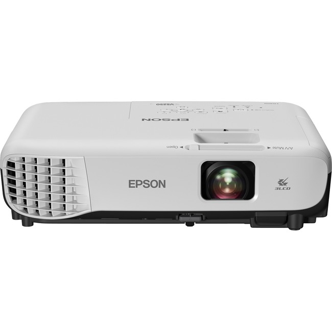 Epson VS250 LCD Projector - 4:3 - 800 x 600 - Rear-Ceiling-Front - 6000 Hour Normal Mode -