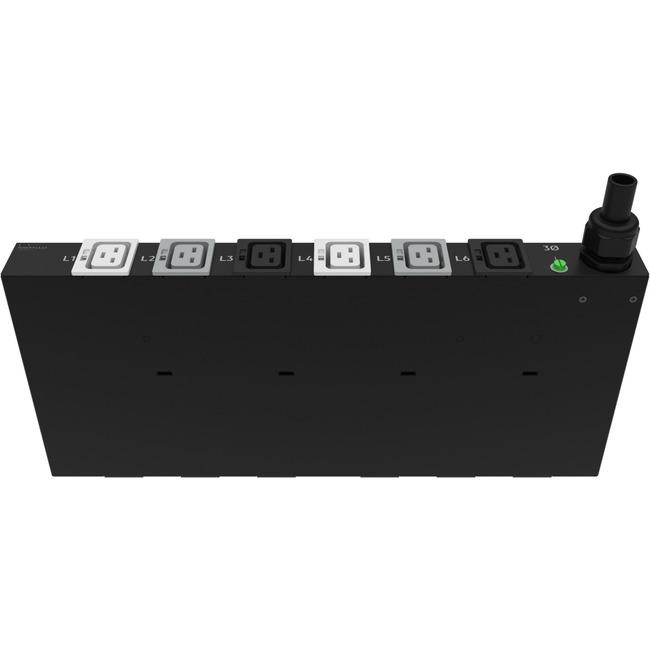 HP 32A/230V Outlets (6) C19/1U Horizontal Intl PDU
