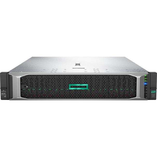 HP ProLiant DL380 G10 2U Rack Server - 2 x Intel Xeon Gold 6132 Tetradeca-core (14 Core) 2.60 GHz - 64 GB Installed DDR4