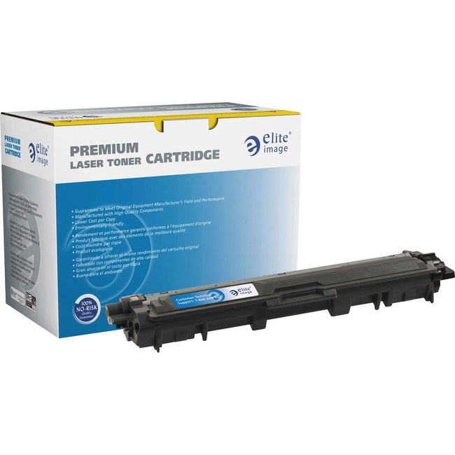 Elite Image Remanufactured Toner Cartridge - Alternative for Brother (TN221) - Yellow