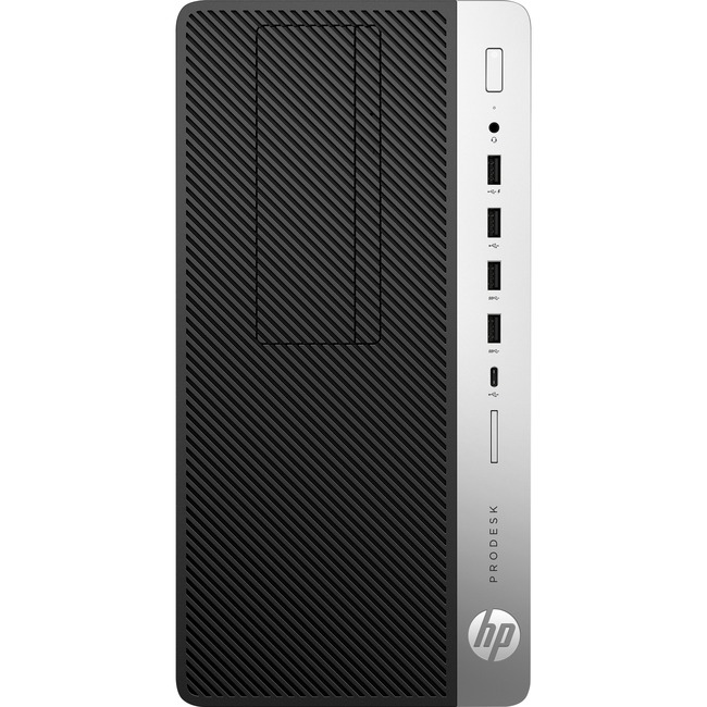 HP Business Desktop ProDesk 600 G3 Desktop Computer - Intel Pentium G4400 3.30 GHz - 4 GB DDR4 SDRAM - Windows 10 Pro 64