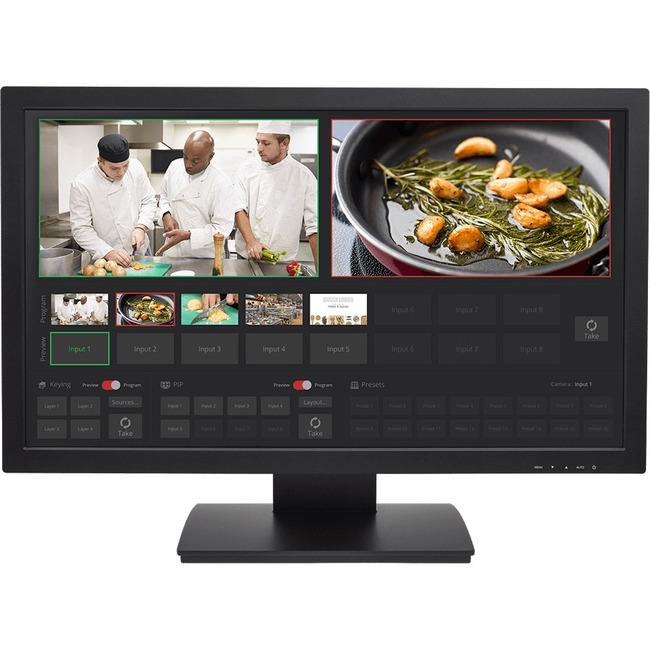 "Vaddio TeleTouch 27"" LCD Touchscreen Monitor - 16:9"